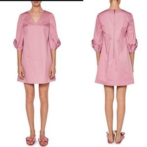 Ted Baker Pink Solyane Bow-detail Tunic Dress 1